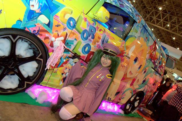 【痛車イベントレポート】ゲームの祭典「闘会議2015」に行ってきた。